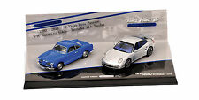 Porsche 911 Turbo (997) + VW Karmann Ghia Coupe 20 Years Double Set 1:43