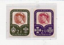 Luxemburgo Boy Scouts Serie del año 1957 (CX-114)