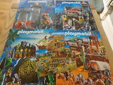 2010 - 2013 PLAYMOBIL BROCHURES / CATALOGUES x 4