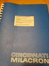 Cincinnati Milacron Diagnostic Manual for Cinturn , Model MA, MO, MR. Acramatic