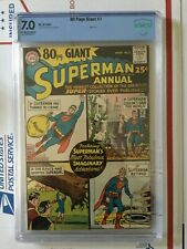 80 Page Giant 1_CBCS 7.0_like CGC_1964_NOT Superman Annual #1_OWW pages
