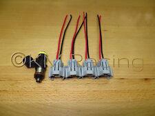 (4x) Bosch 210lb 2200cc 0280158821 Fuel Injector Connectors (Quick Disconnect)