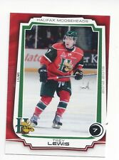 2012-13 Halifax Mooseheads (QMJHL) Trey Lewis (Coventry Blaze)