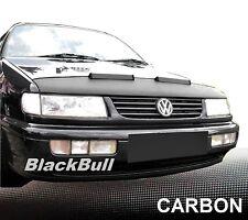 Silber Carbon Optik BRA VW Passat B4 Steinschlagschutz Haubenbra Tuning