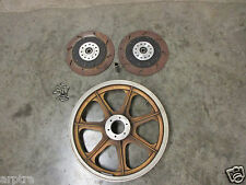 "BMW R100RS R100S R100RT R90S airhead 16"" front wheel and rotors for track"
