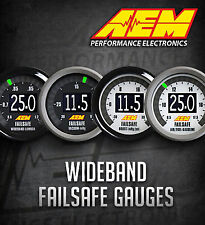Genuine AEM Failsafe Wideband AFR Air Fuel Ratio & Boost Gauge Sensor # 30-4900