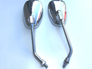BRAND NEW SET OF MIRRORS FOR HONDA VT 125 SHADOW 99-04 OVAL WIDE