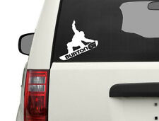 Burton guy grab Vinyl  Decal Sticker Snowboard car window sticker 10""