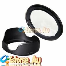 67mm Metal Lens adapter + LH-DC60 Hood For Canon SX20 SX30 SX40 SX40 HS FA-DC67A
