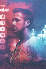 RYAN GOSLING Signed 12x8 Photo ONLY GOD FORGIVES & THE IDES OF MARCH COA