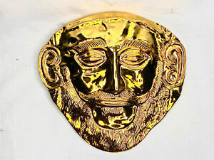 Troy, Death Mask of Agamemnon, Very Detailed, Limited Special Edition Piece