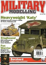 Military Modelling June 2006 Italian Staghound Austin Ambulance Russian AFV Nile