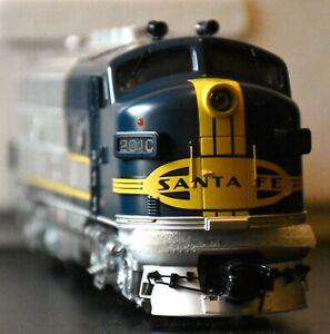 MTH Rgail King Santa Fe F-3 ABA Diesel Engine Set,lGreat,Original Packaging,used