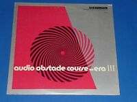 """""""AUDIO OBSTACLE COURSE - ERA III"""" - SHURE DEMONSTRATION RECORD ALBUM - EX"""