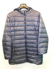 Eddie Bauer XXL 2X Slate Blue Gray Luna Peak Down Parka Winter Coat Hood Womens