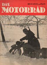 Zeitschrift Das Motorrad Nr.13 28.3.36 8 Wochen DKW 200 SB, Genfer Salon