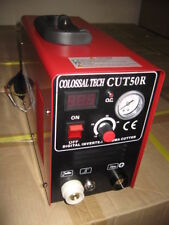 Plasma Cutter 50AMP CUT50R Digital New Inverter 220V & 35 Nickel Plated Consumab