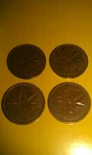 CANADA 1 CENT LOT OF 4 1966  2-1964 1968 set OF 4