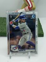 2020 Bowman Chrome Paper Baseball Toronto Blue Jays RC  Bo Bichette 💎💎🔥🔥