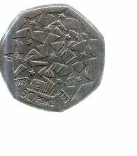 1998 - UK 50p / 50 pence coin - EUROPEAN UNION