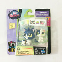 Littlest Petshop Keena Catley & Honeybelle Cats Kittens Figures New