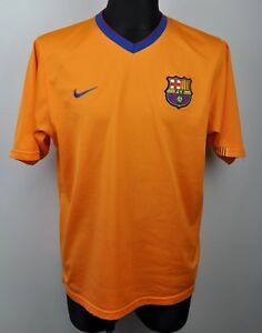 FC BARCELONA Nike Away Shirt 2006 Mens XL Adult Jersey Soccer Football Barca Kit