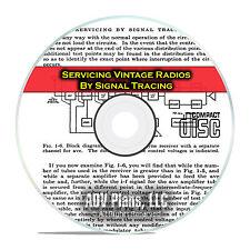 Servicing Tube Radios by Signal Tracing, John Rider Repair Books PDF CD E30