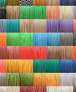 High Quality British Made Fabric Braided 3 Core Lighting Flex 0.5mm 120+ Styles