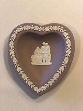 Wedgewood Jasperware Lilac Heart Coriolanus