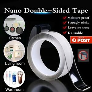 Double-Sided Nano Tape Gel Reusable Traceless Clear Adhesive Transparent