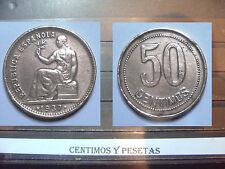 CyP Moneda 50 Centimos del 1937