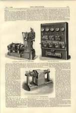 1890 Chelsea Supply Co Centralita Motor Motor Eléctrico