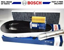BOSCH SERVICE KIT BMW F10 F11 520d 525d FILTERS AIR OIL FUEL POLLEN / CABIN