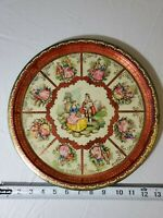 Vintage Daher Decorated Ware Tin Courting Lovers England