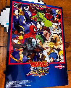 Marvel vs Capcom Poster, 13 X 19