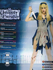 MALICE IN HORRORLAND GOTHIC ALICE HALLOWEEN COSTUME NEW SEXY ZOMBIE LARGE