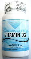 2 BOTTLES Vitamin D3 POTENT 50000 UI 1000mg Weekly Dosage in Each Tablet Capsule