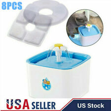 8x Pet Cat Dog Water Fountain Filter For Auto Water Drinking Bowl Dish Dispenser