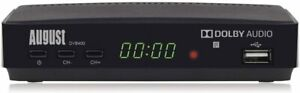 Freeview HD Recorder Box - August DVB400 - Watch and Record 1080p Freeview TV