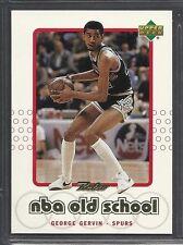 Verzamelkaarten: sport Verzamelingen George Gervin 1986 Star Company San Antonio Spurs Court Kings NBA Card #15/33