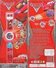 Pixar Cars Children Kids Digital Watch PROJECTION Projector 20 images + CHARM