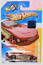 HOT WHEELS 2012 NEW MODEL FUNNY SIDE UP RED FACTORY SEALED