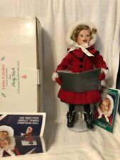 """Shirley Temple Christmas Doll Collection """"Little Caroler"""" Danbury Mint 1995"""