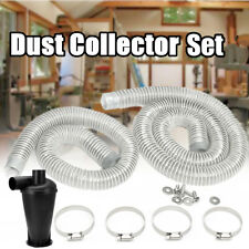 2Pcs Hose Set For Vacuums Cleaners & Industrial Extractor Powder Dust