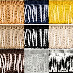 Tassel Fringe Edge 60mm 6cm x Metre Bullion Tassel Loop Trim Upholstery Curtains