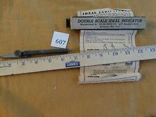 Double Scale Ideal Indicator With Instructions And Box