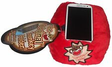 Sock Monkey I Pad I Phone Android Tablet Holder NEW IMonkey Plush Red Bean Bag