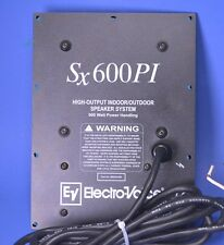 Electro-Voice SX600PI Dual 12 High Output Indoor Outdoor Crossover & Input Panel