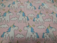 IbraFashion Toddler Girl's Unicorn Pink 100% Cotton Pillowcase 12x18