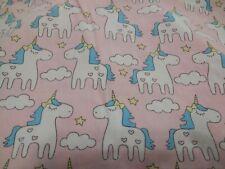 IBraFashion Toddler Girl's Unicorn Pink 100% Cotton Pillowcase 12x18